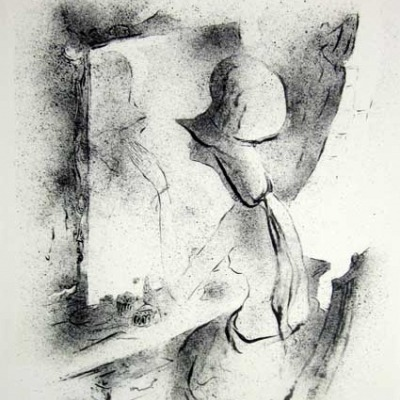 Michael Biddle; Fascination; Lithograph 1965