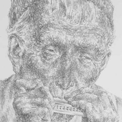 Joseph Hirsch; Music; Lithograph 1951