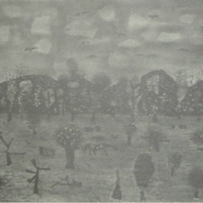 "Arnold Blanch ""Pastoral"" 1954 lithograph"