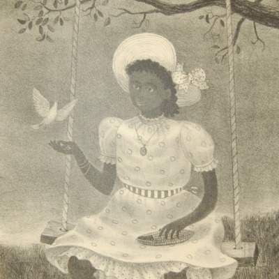 The Dove by Doris Emrick Lee, 1951 Lithograph