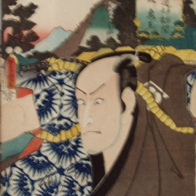 Untitled Color Woodblock by Toyokuni Utagawa, Undated