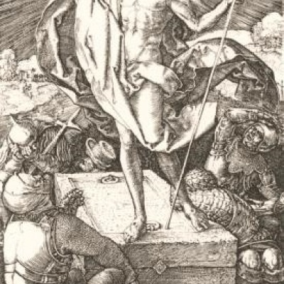 The Resurrection by Albrecht Durer, Engraving 1509-10