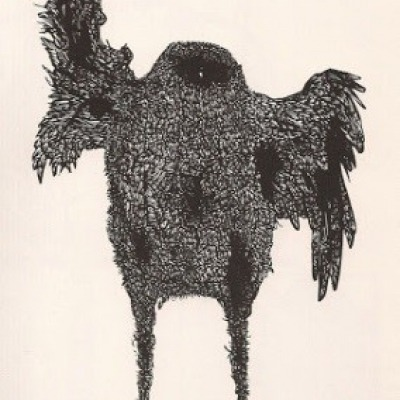 Eagle by Leonard Baskin, 1973 Wood Engraving