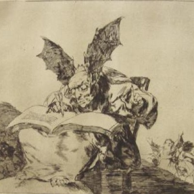 Contra el Bien General by Francisco Goya, Reprint of 1808-14 Original