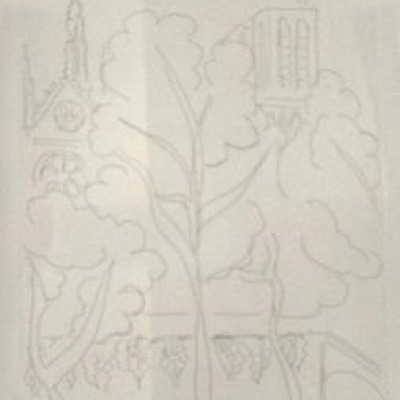 Notre Dame by Henri Matisse, Etching
