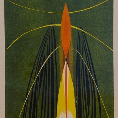 Rocket by J. Page, 1951