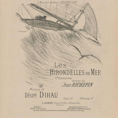 Les Hirondelles de Mer by Henri deToulouse-Lautrec,1895 Lithograph