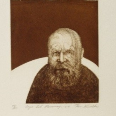 Cape Cod Personage by Ronald Kowalke, AAA Etching 1972