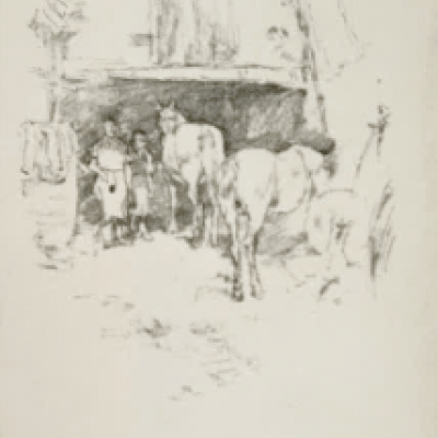 The Forge by James Abbott Whistler