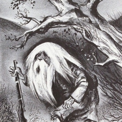 Rip Van Winkle by William Gropper	, 1945 Lithograph